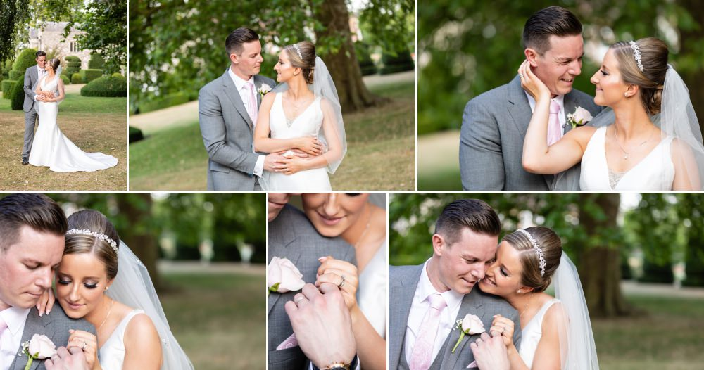Bride and Groom Portrait Photography at Hall Place & Gardens Wedding Venue Bexley