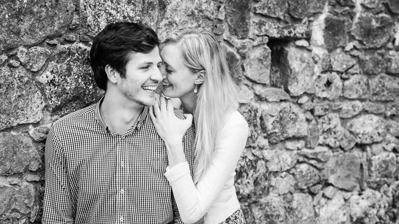 Kent Engagement Photo Session Westenhanger Castle