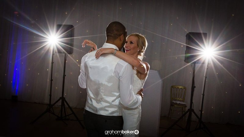 Shepperton Studios wedding Couples First Dance - by Wedding Photographer Graham Baker Photography