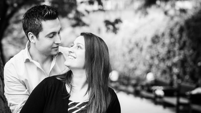 Saint Luke's Gardens Chelsea Engagement Session