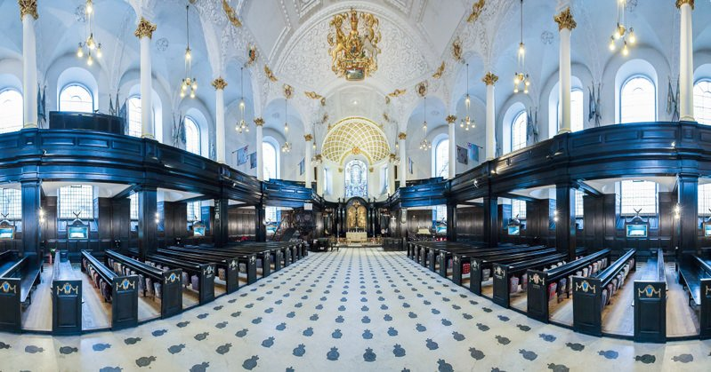 Military Wedding London RAF Church St Clement Danes