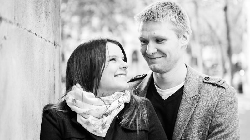 Pre-wedding Engagement Photography Session Strand Central London