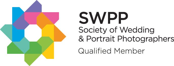 Qualified with the Society of Wedding and Portrait Photographers