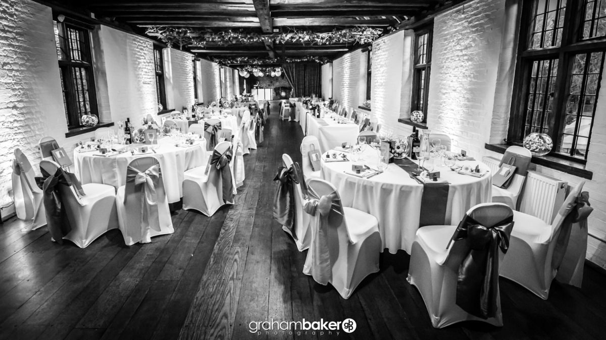 Wedding Reception at Tudor Barn
