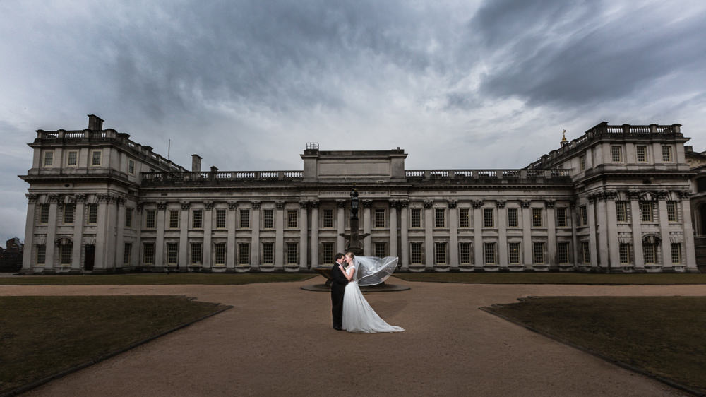 Wedding at The Old Royal Naval College Greenwich