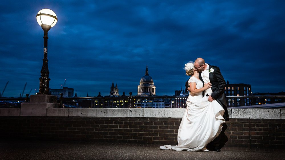 Wedding at The Swan Shakespeare's Globe Bankside London